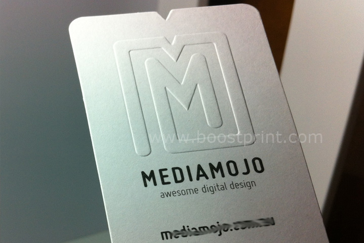 Embossing business cards reheart Choice Image